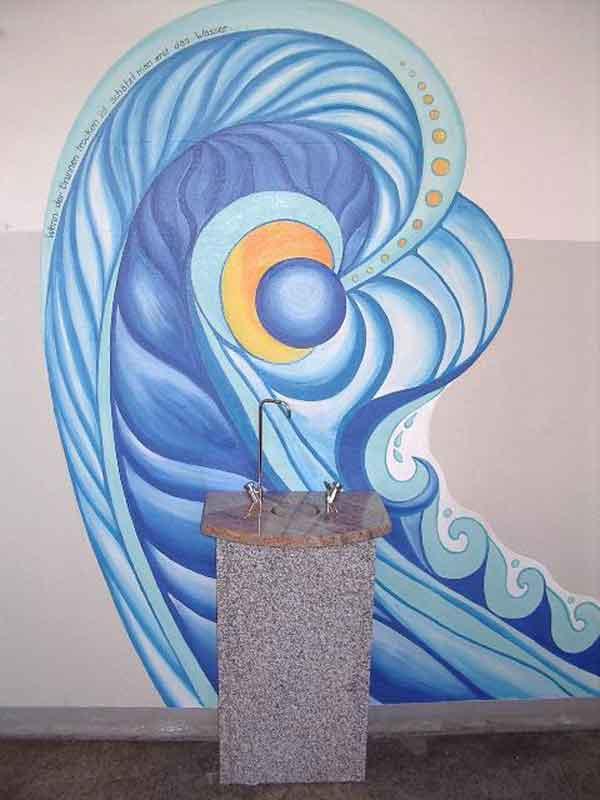 Trinkbrunnen Enso mit Ringablauf