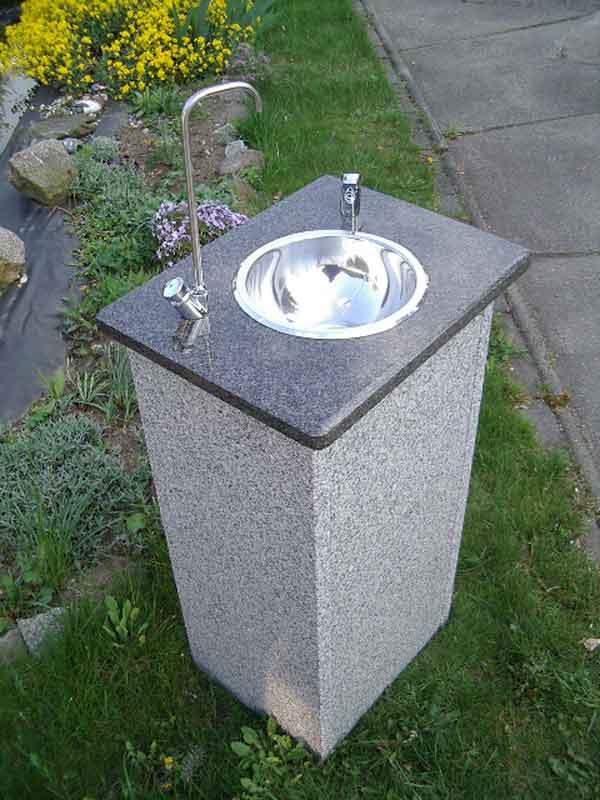 Trinkbrunnen Renovierer